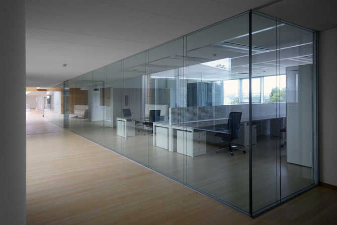 Beautiful Rainbow SpA New Offices: Glass Partition Walls And Acoustic Comfort