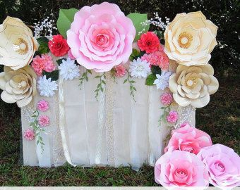Giant paper flower diy templates diy flower by catchingcolorflies paper flower rose backdrop diy paper flower patterns and tutorials paper rose templates wedding flower wall wedding decor junglespirit Gallery