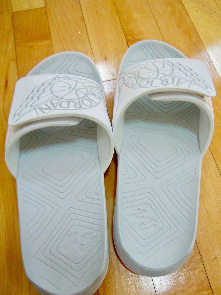 60d63612abb NIKE AIR JORDAN HYDRO 7 SLIDE WHITE PURE PLATINUM AA2517 100 BNIB #fashion  #clothing #shoes #accessories #mensshoes #sandals (ebay link)