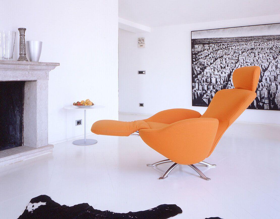 Sillón reclinable moderno k dodo by toshiyuki kita cassina