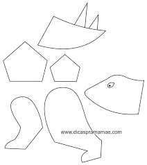 image result for dinosaur body parts template for balloon birthday