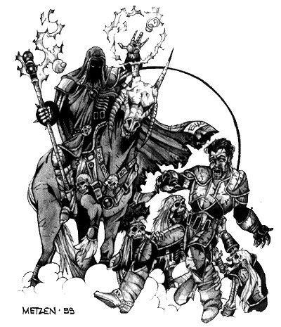 Warcraft 2 Concept Art By Famed Artist Metzen