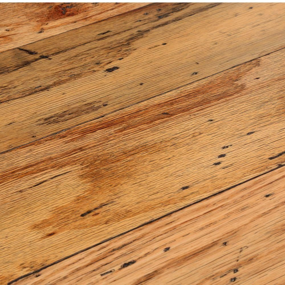 Bruce Distressed Oak Toast 3/8 In. Thick X 5 In. Wide