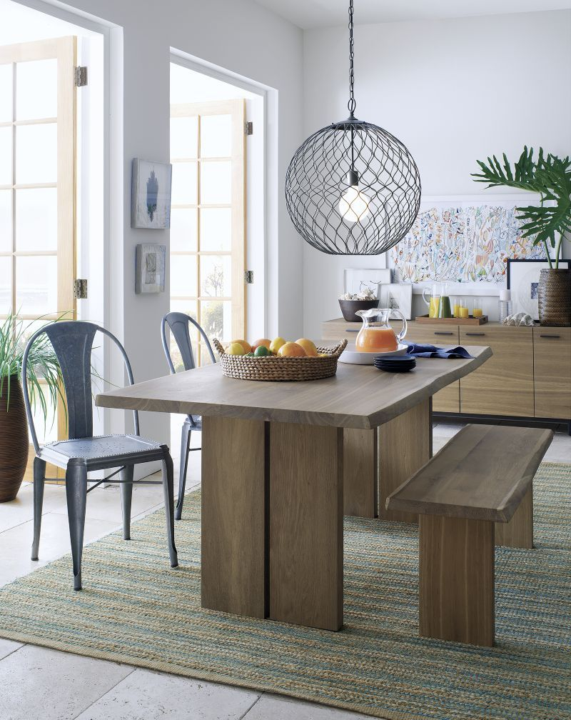 Crate and barrel dining room table - 17 Best Images About Table On Pinterest Marlow Stains And Extension Dining Table