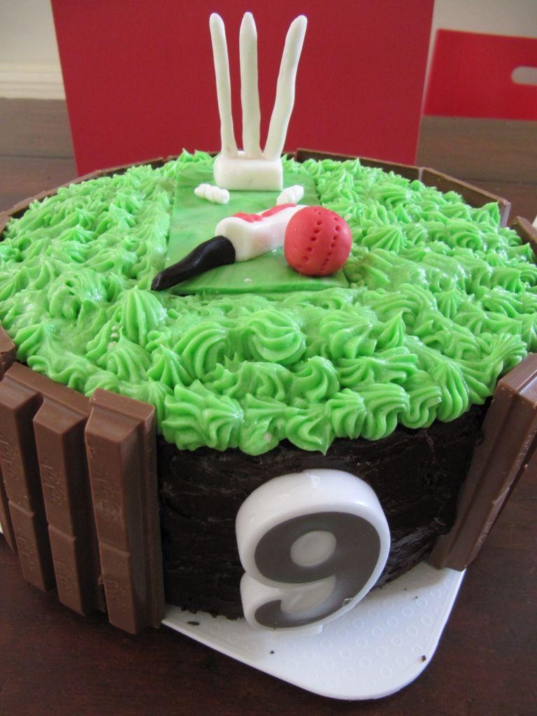 Cricket Birthday Cake Theme Cakes Food