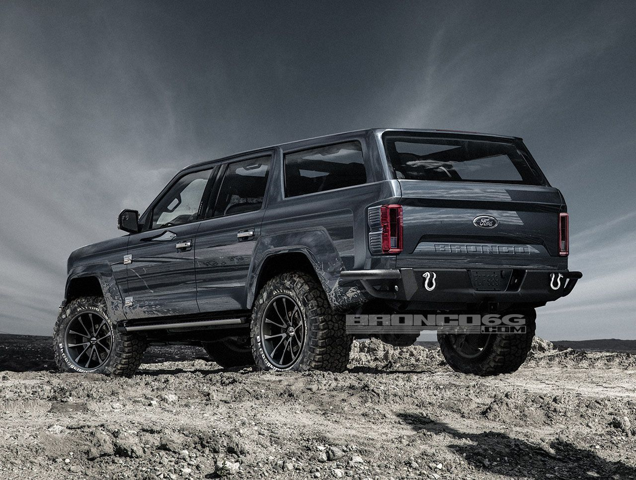 4 Door 2020 Ford Bronco Concept Isn T Real Still Awesome