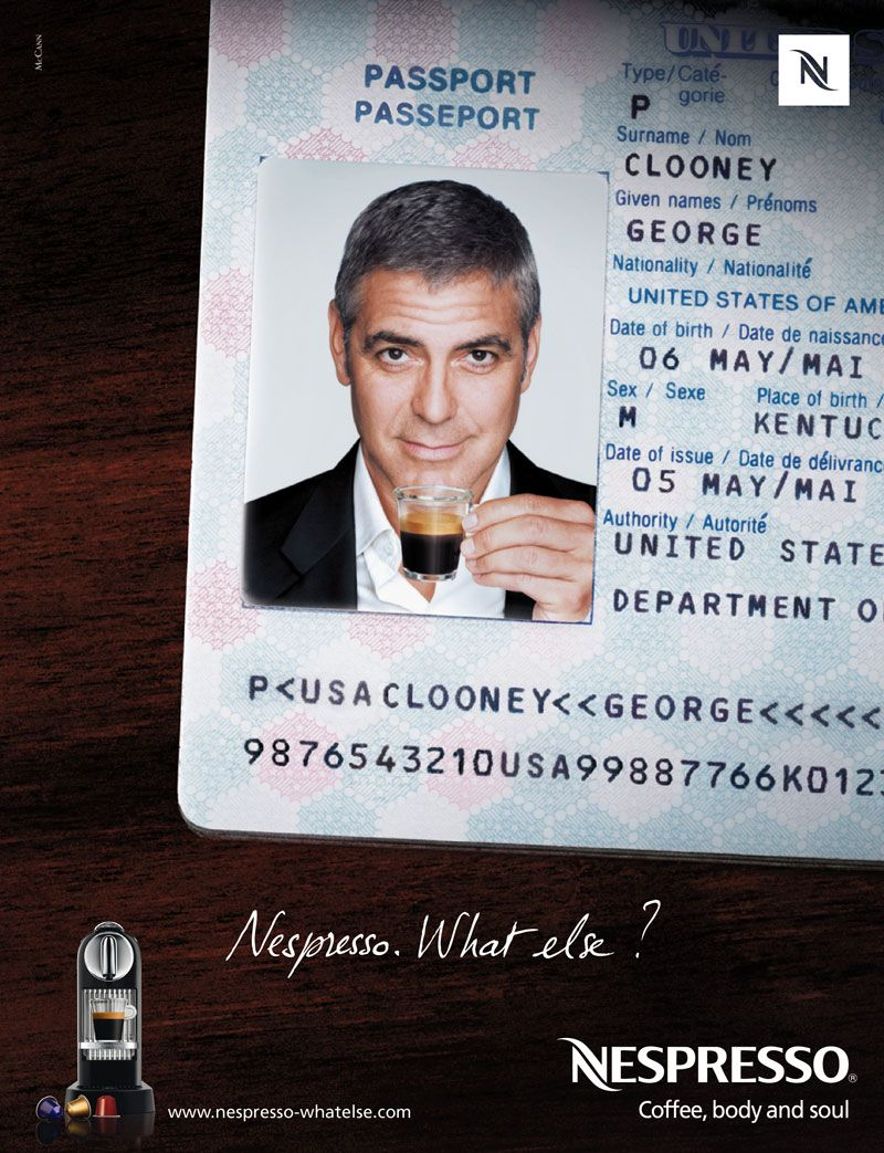 Nespresso george clooney what else since 2005 nestle pintere - Georges clooney what else ...