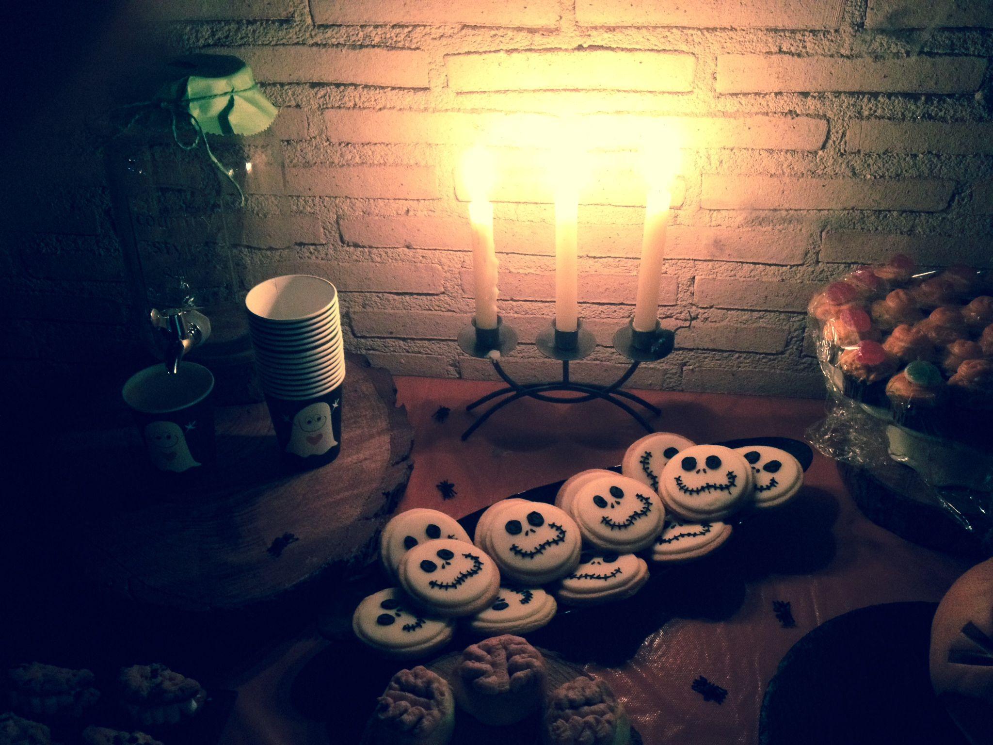 Jack's cookies, nightmare before christmas