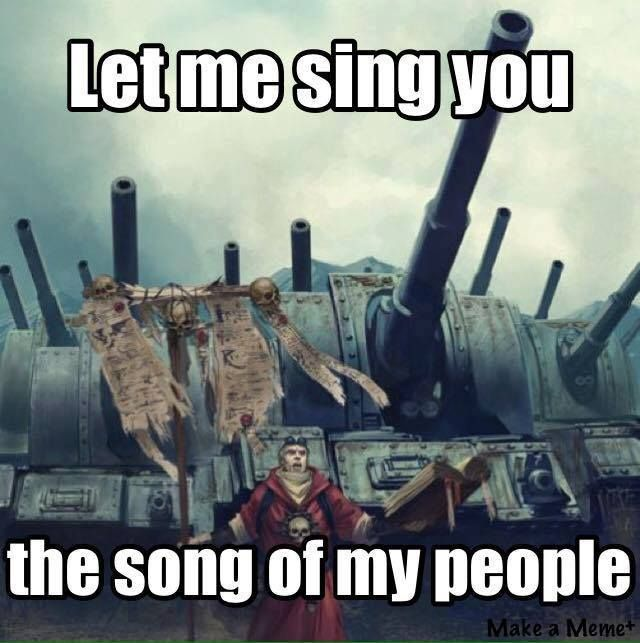 Image result for 40k song of my people