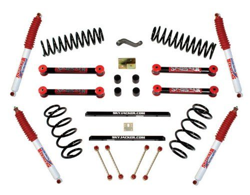 Skyjacker Tj401bph 4 Lift Pallet Kit Jeep Wrangler Tj Jeep Wrangler Lift Kits Jeep Wrangler