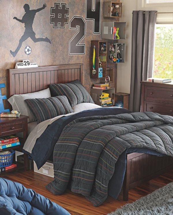 17 Cool Teen Room Ideas: Pin On Boys Room Design