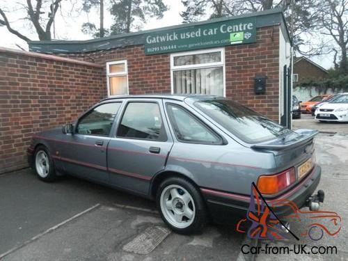 Ford Sierra Ford Sierra Xr6 3 0 V6 South African Import Petrol Manual 1989 G