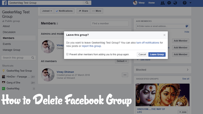How To Delete A Facebook Group 2020 Updated Steps In 2021 Reading Recommendations Facebook Group Delete Facebook