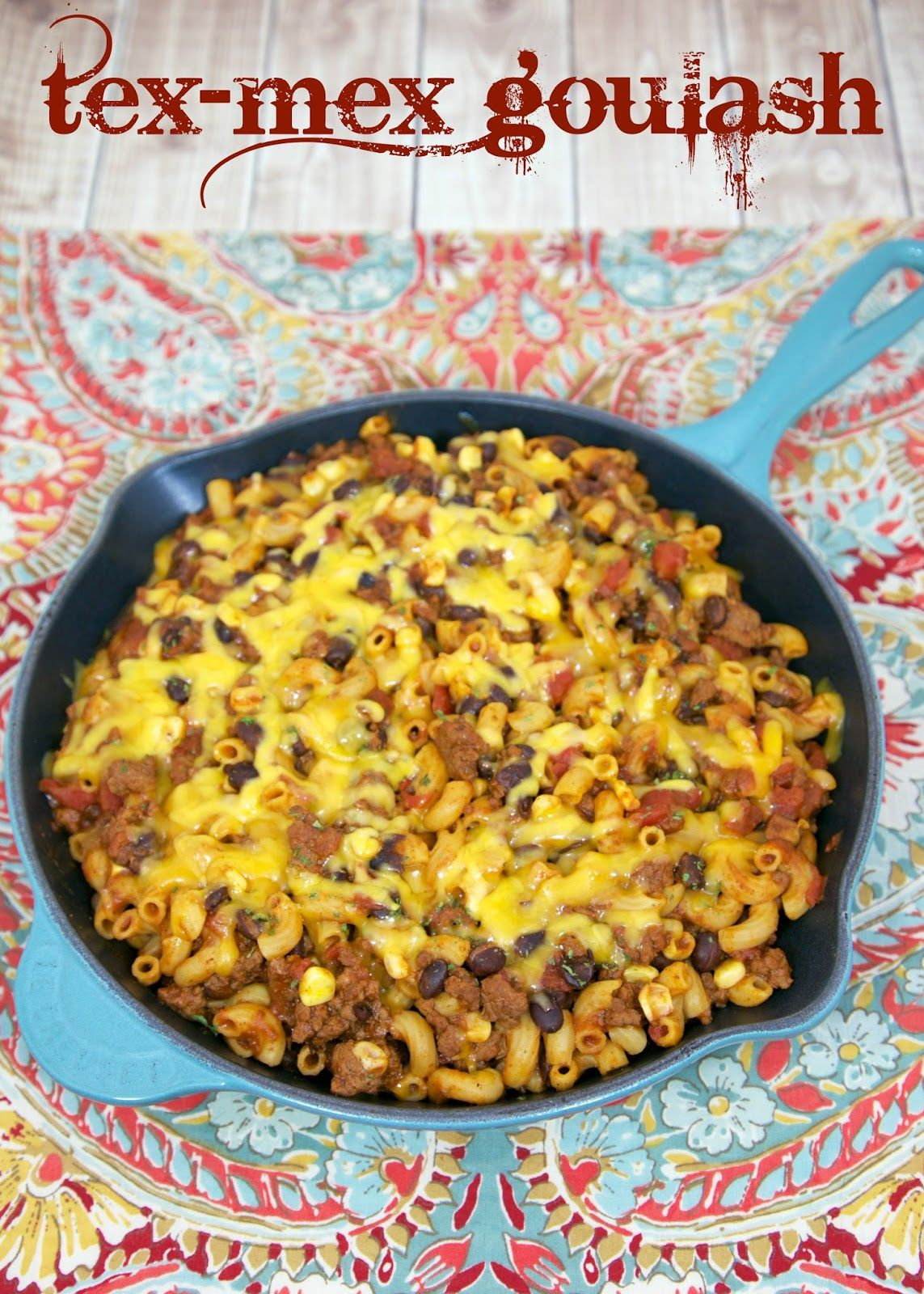 Mexikanische Kuchen Rezepte One Pot Tex Mex Goulash Beef Taco Seasoning Corn