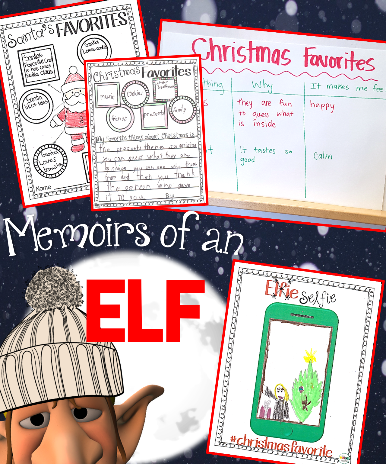 Memoirs Of An Elf Interactive Read Aloud Lesson Plans And Activities