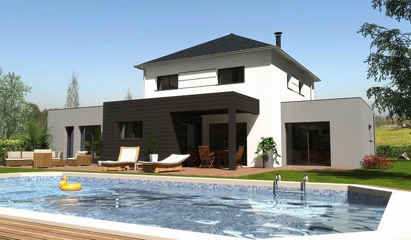 Maison CONTEMPORAINE à étage 178 m² 5 chambres