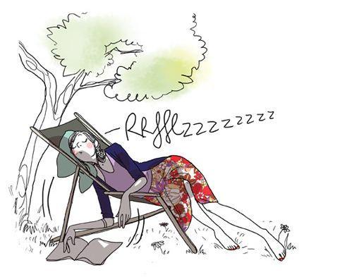 Margaux motin humour de filles illustration art - Dessin soleil rigolo ...