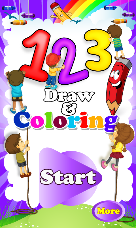 123 Draw and Coloring Draw, Coloring How to memorize