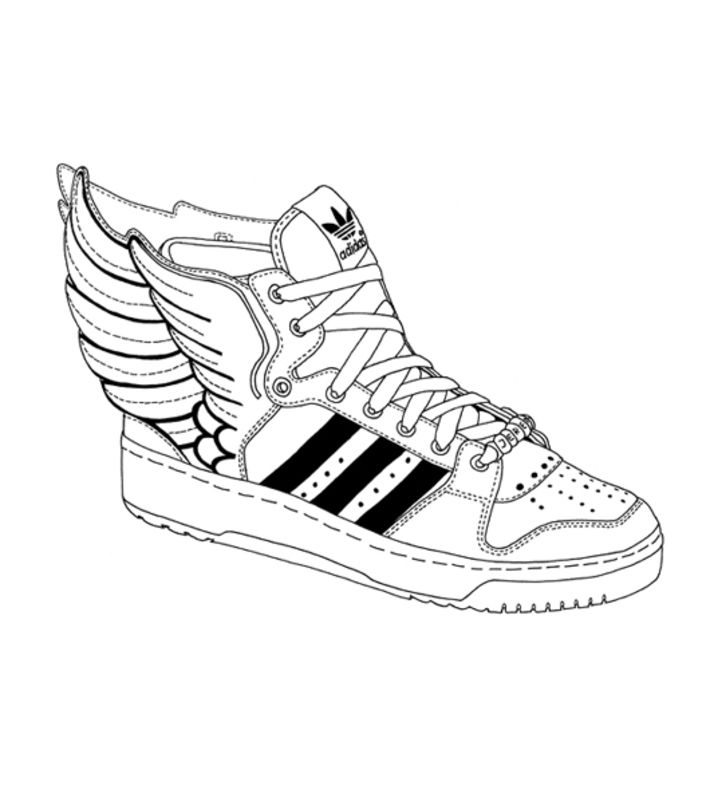 Adidas Wings Art | Sneaker brain in 2018 | Pinterest | Art ...