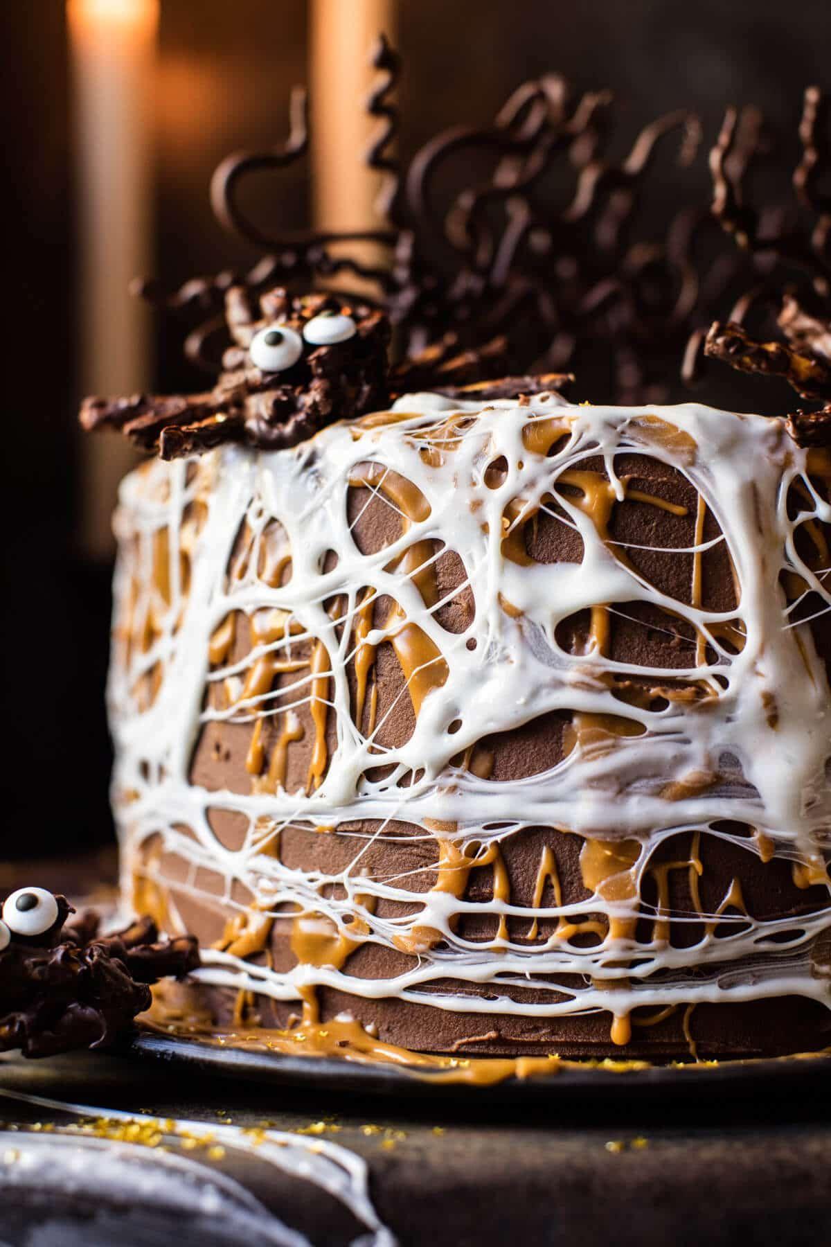 Forbidden forrest butterbeer chocolate cake recipe