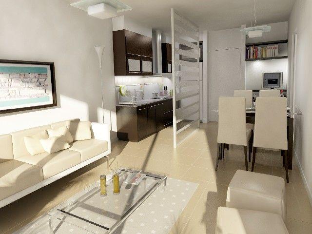Como decorar un monoambiente muy peque o buscar con for Como decorar un departamento moderno