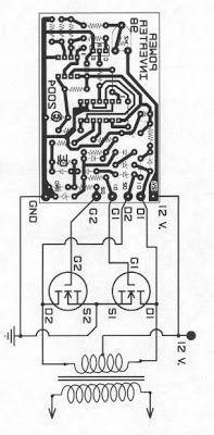 500W Mosfet Inverter 12V to 110V / 220V (Görüntüler ile
