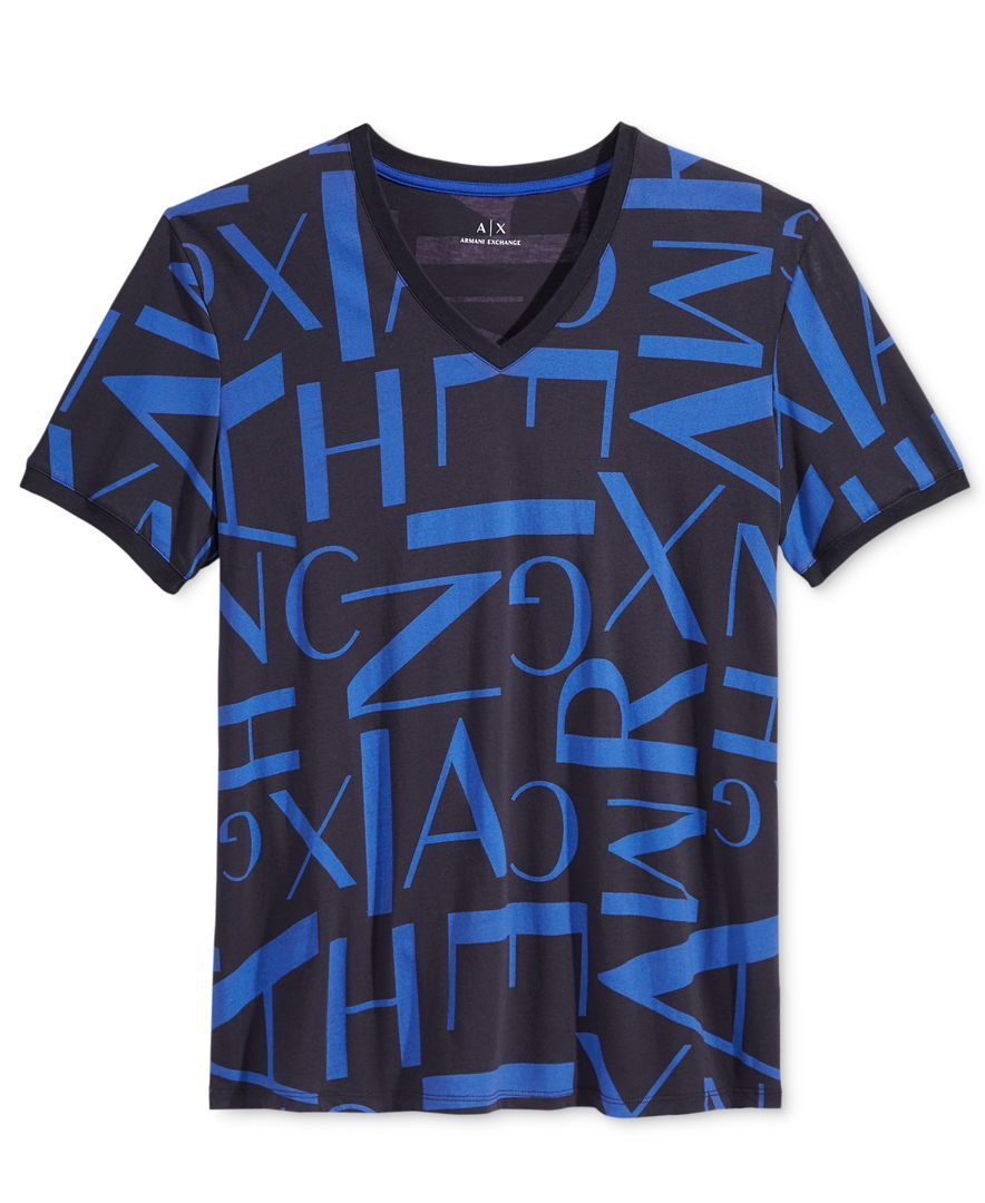 T shirt Blue Camiseta Estampada Dark zRYnvqRp