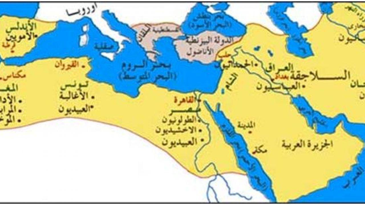 حدود الدولة العثمانية Empire World Map