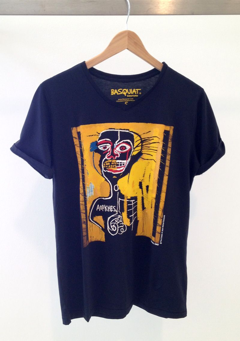 4caceb789c9a Basquiat Couture T-shirt. Made from 100% prima cotton. | THE VAULT ...