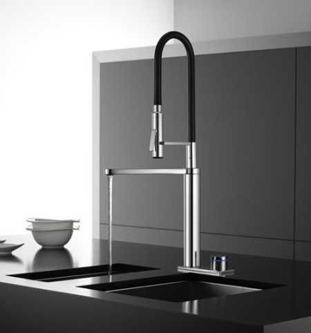 Poggepohl Kwc Modern Kitchen Faucet Modern Kitchen Interiors Delta Kitchen Faucet