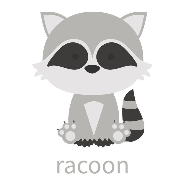 Racoon.png | Children and Disney art | Pinterest | Mapache, Mapaches ...