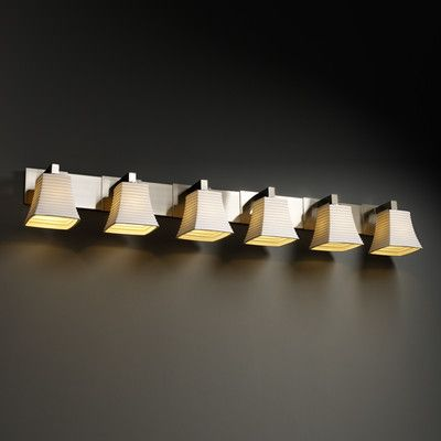 Justice Design Group Limoges Modular 6 Light Vanity Light ...