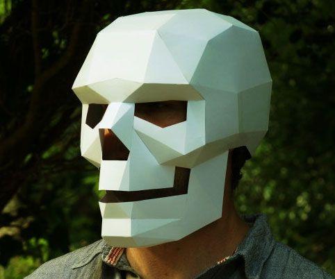 cardboard skull mask skeleton mask skull mask and how