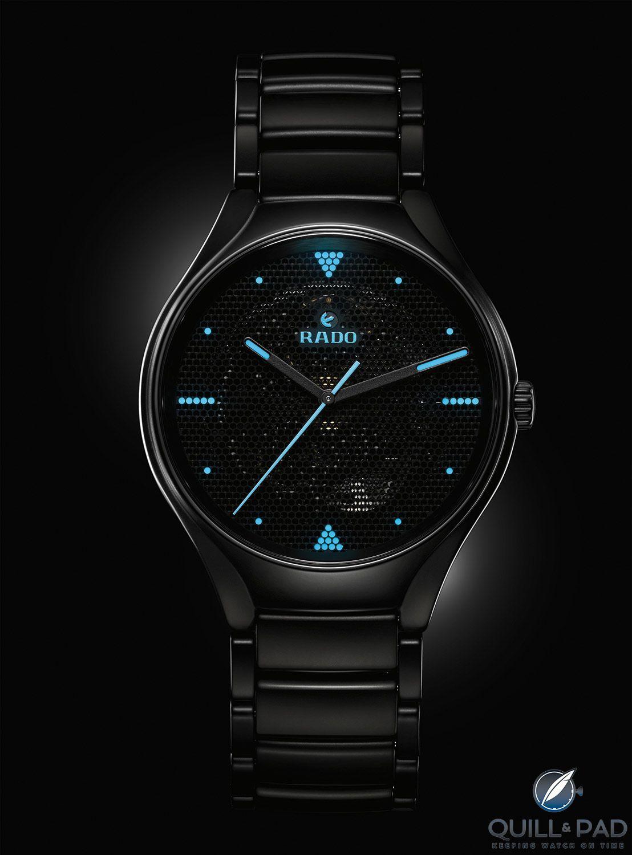 Rado True Phospho Skeleton Watches Womens Watches Luxury Rolex