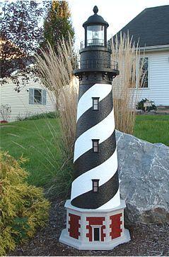Nautical Lighthouse Theme Coastal Decor Lighthouse Crafts