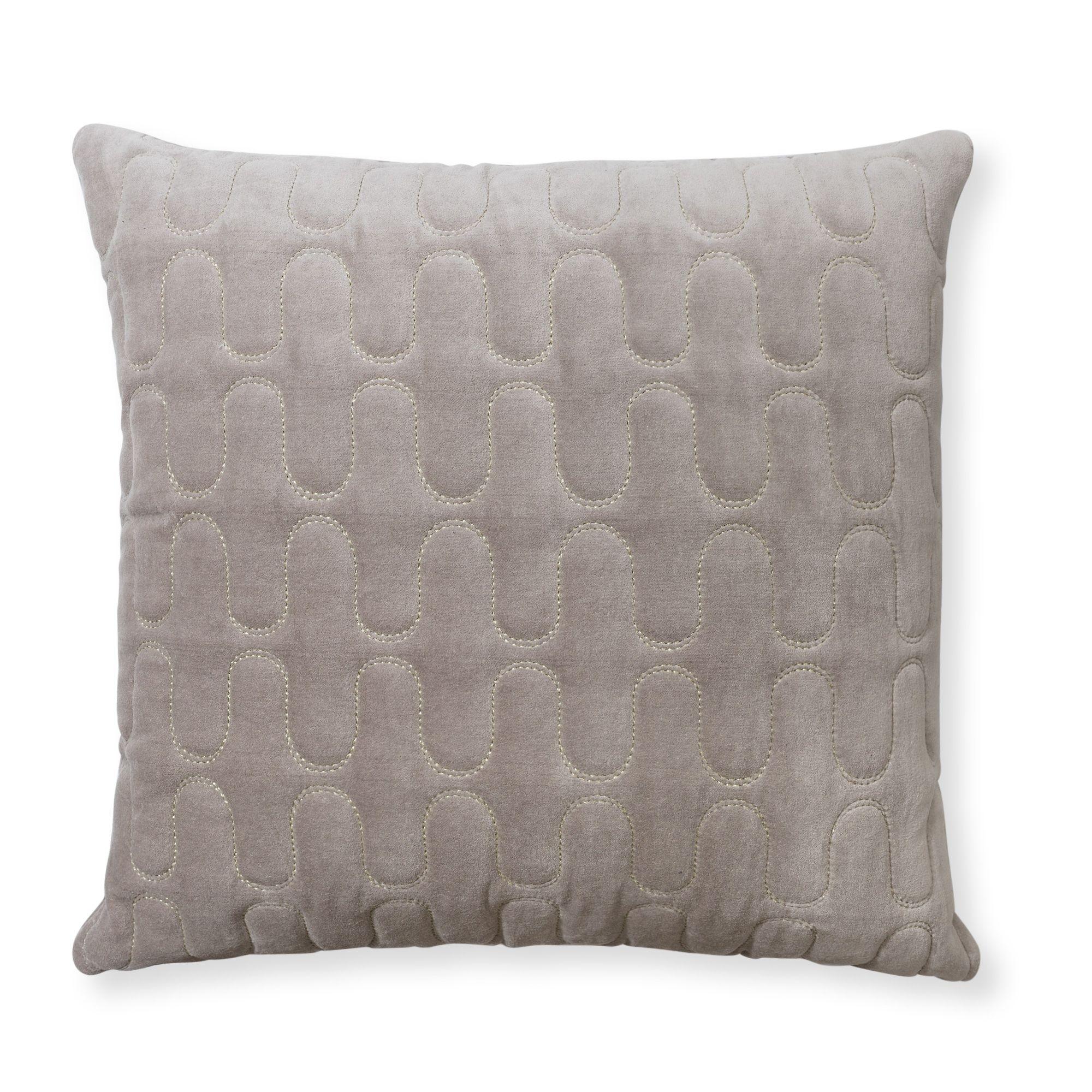 Buy the Quilted Velvet Cushion at Oliver Bonas. Enjoy free UK ...
