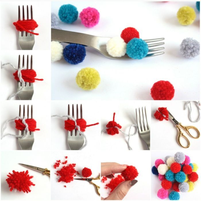 Photo of 33 craft ideas on how to make tassels and pompoms yourself