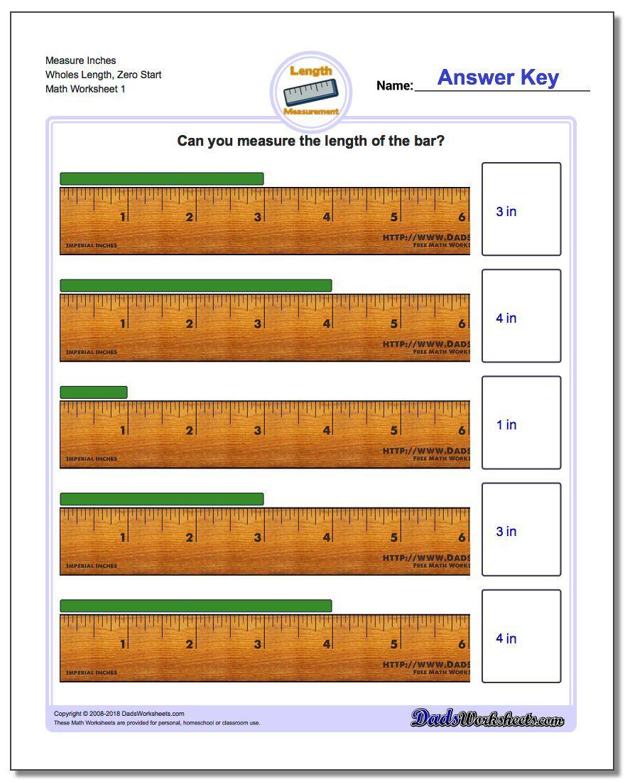 Measurement Worksheets For Kindergarten In 2020 Measurement Worksheets Volume Worksheets 2nd Grade Worksheets