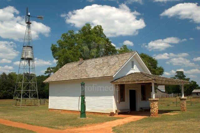 Jimmy Carter Boyhood Farm, Plains. Georgia: