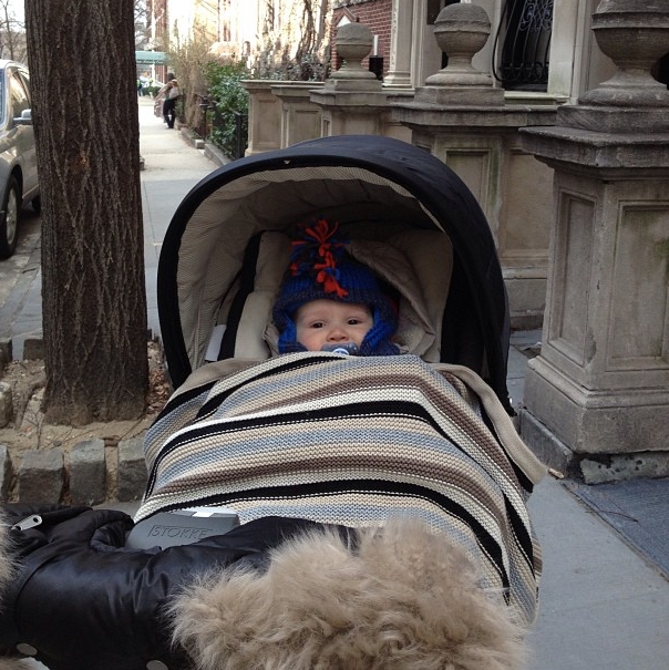 b5222ed6c Baby stays cozy warm this Winter with Stokke Xplory Winter Kit ...