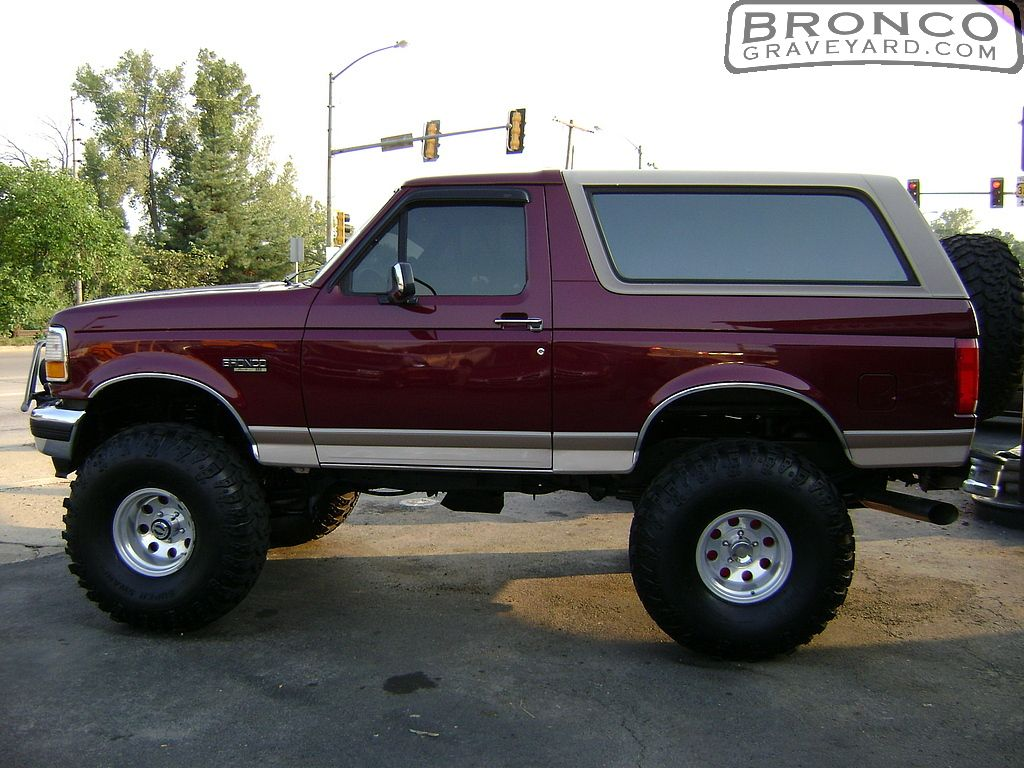 Lifted 1996 Bronco Eddie Bauer Pics Photos Lifted Ford Ranger