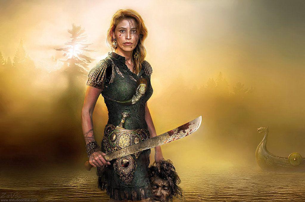 Woman Warrior 2 by Zavgo-Spb.deviantart.com on @DeviantArt ...