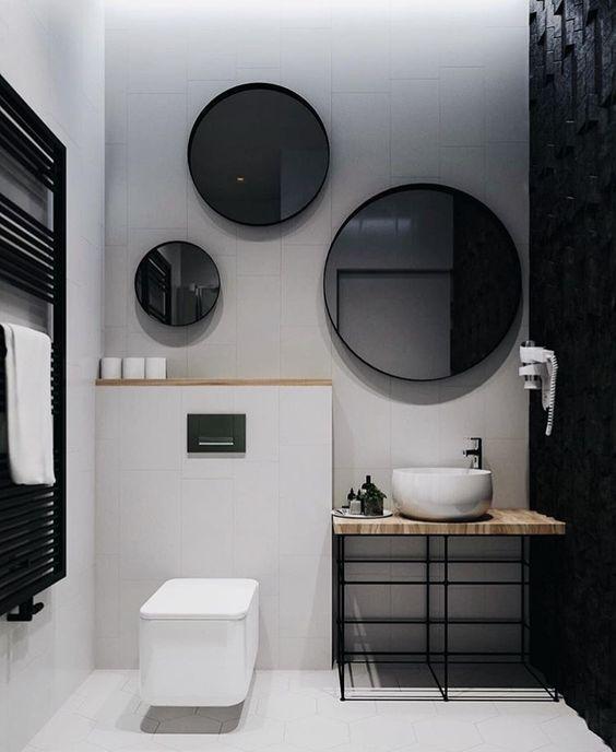 Möchten Sie ein modernes Badezimmer wie auf dem Bild? Lesen Sie ...