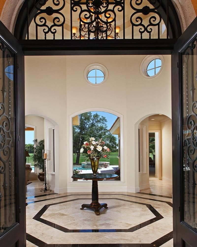 56 beautiful and luxurious foyer designs page 2 of 11 for Luxury foyer design