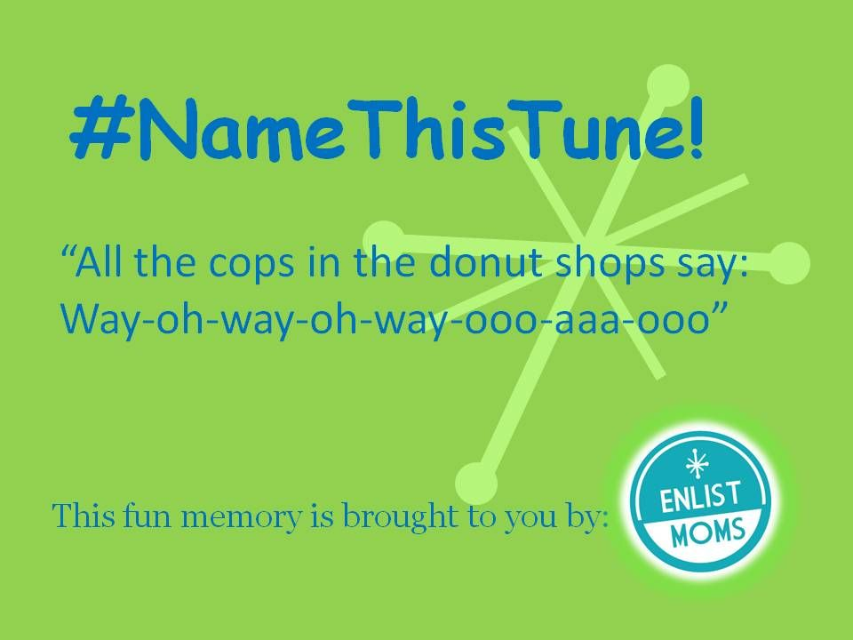 All The Cops In The Donut Shop Say Namethistune