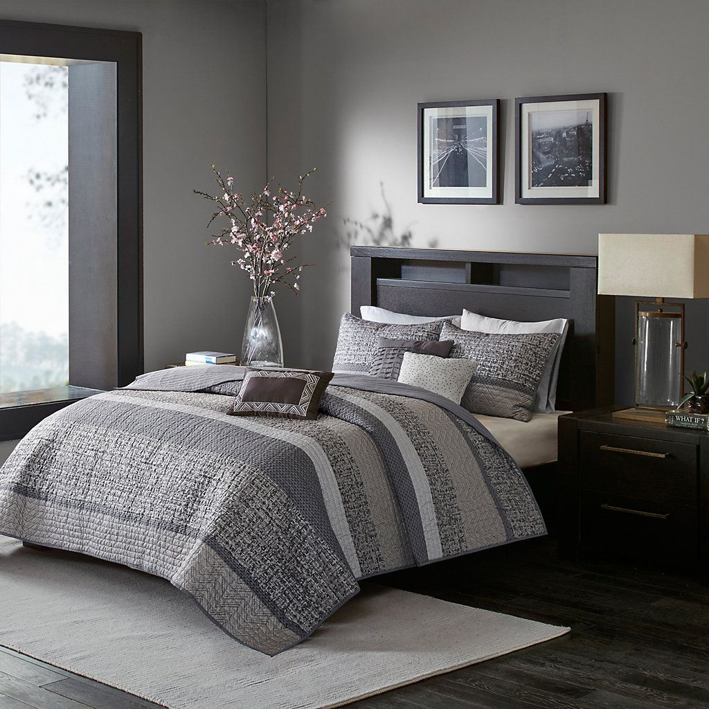Madison Park Apartments California: Madison Park 6-piece Melody Quilted Coverlet Set