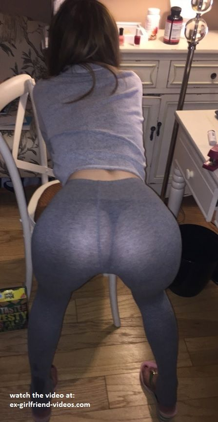 Tiny ass in yoga pants
