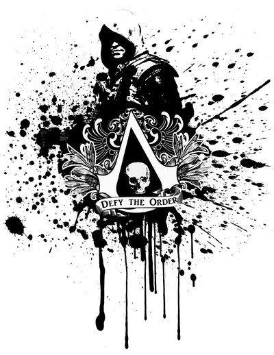 Defy The Order Edward Kenway By Karutodeyara Assassins Creed