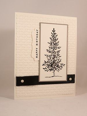 Did You Stamp Today?: Masculine Pine Tree