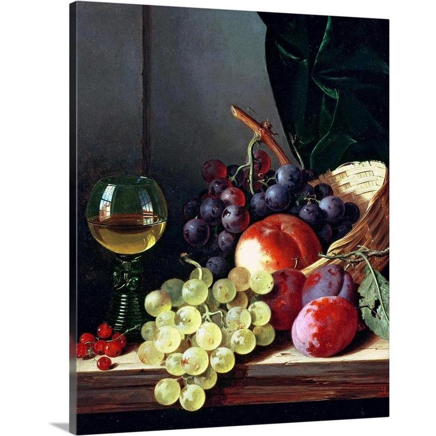 Grape Abstract Poster Art Print